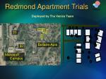redmond apartment trials