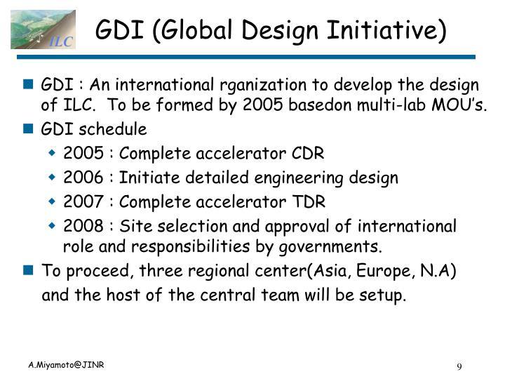 GDI (Global Design Initiative)