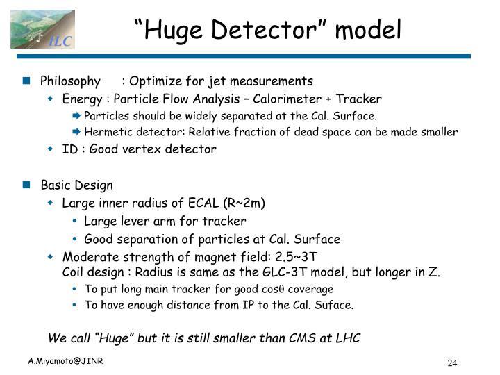 """Huge Detector"" model"