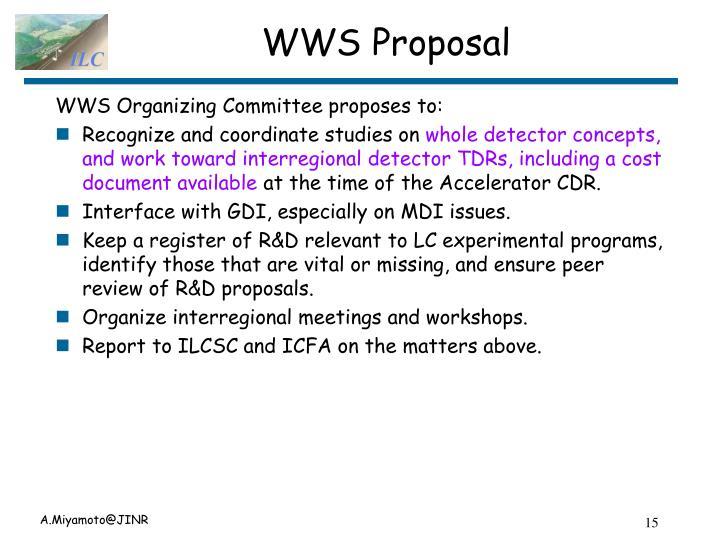 WWS Proposal