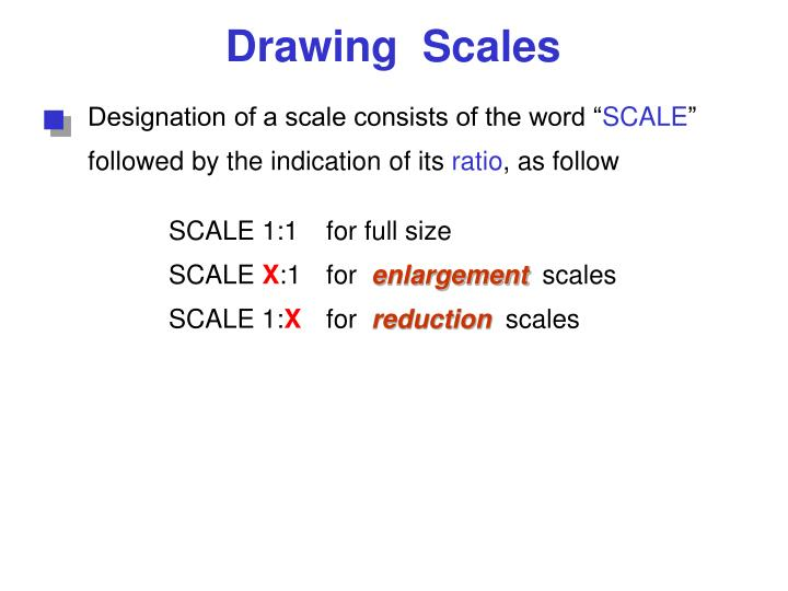 Designation of a scale consists of the word ""
