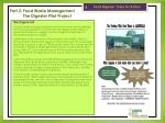 part 2 food waste management the digester pilot project