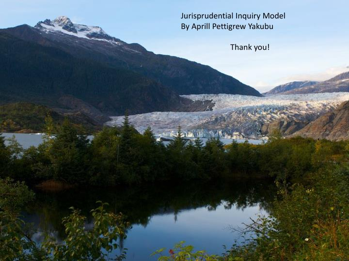 Jurisprudential Inquiry Model