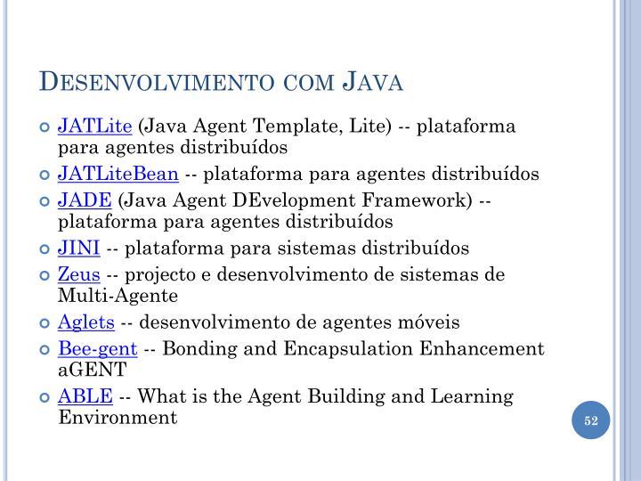 Desenvolvimento com Java