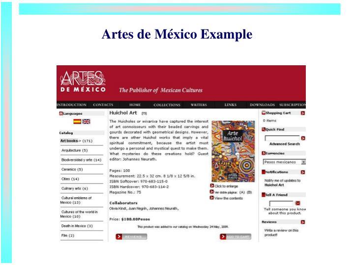 Artes de M