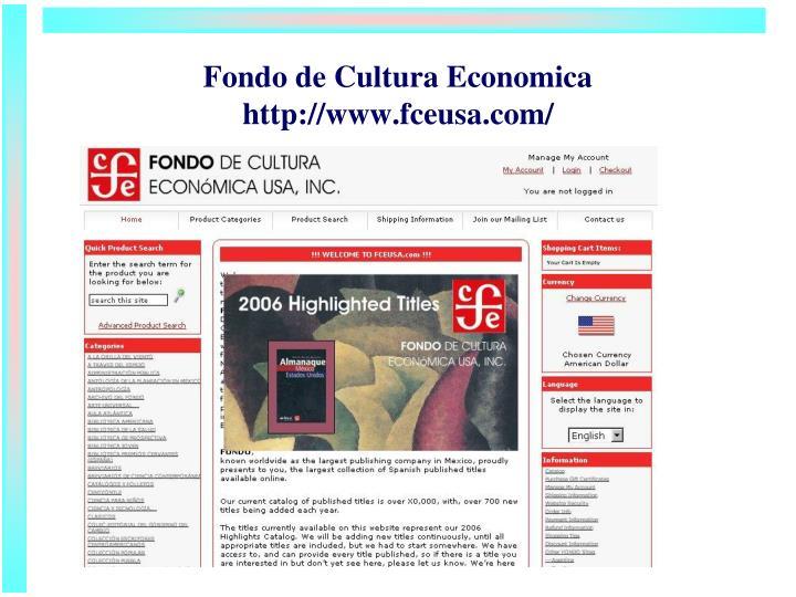 Fondo de Cultura Economica