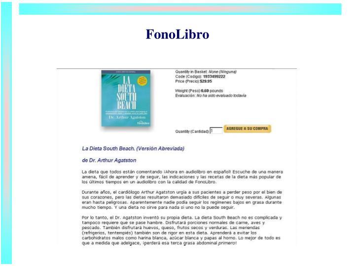 FonoLibro