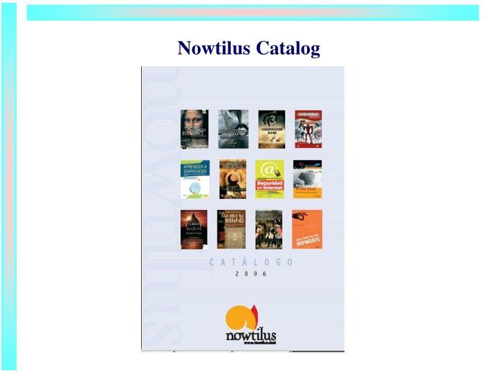 Nowtilus Catalog