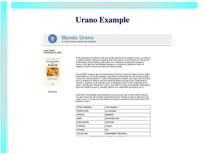 Urano Example