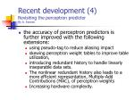 recent development 4 revisiting the perceptron predictor by a seznec