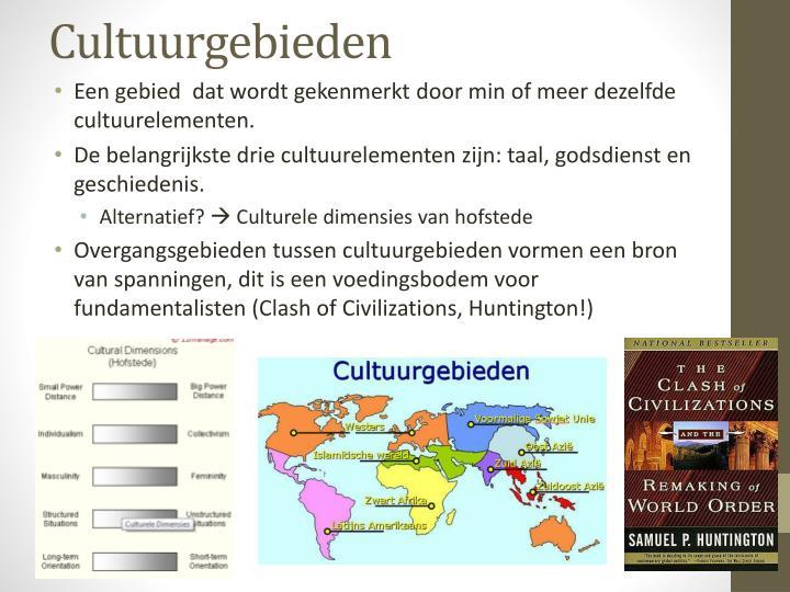 Cultuurgebieden