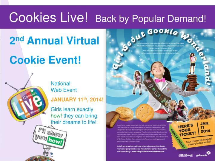 Cookies Live!
