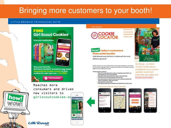 Bringing more customers to your booth!