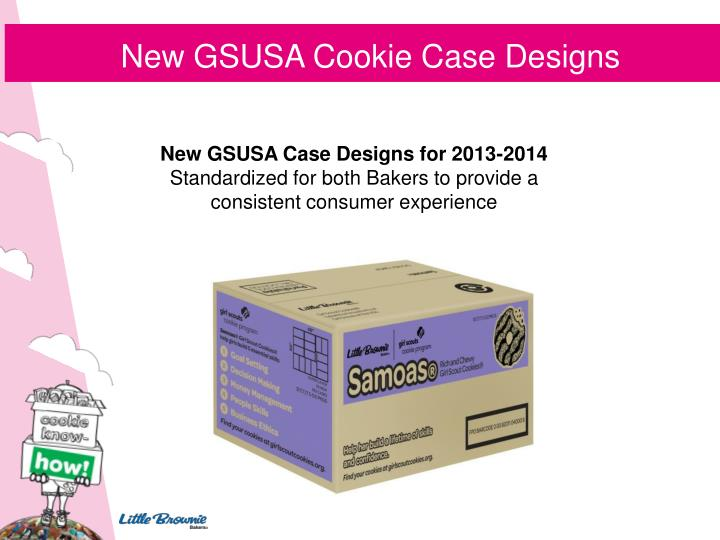 New GSUSA Cookie Case Designs