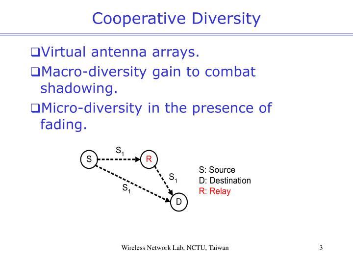 Cooperative Diversity
