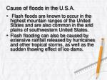 cause of floods in the u s a2