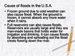 cause of floods in the u s a4