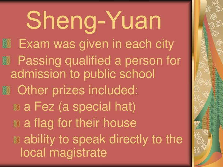 Sheng-Yuan