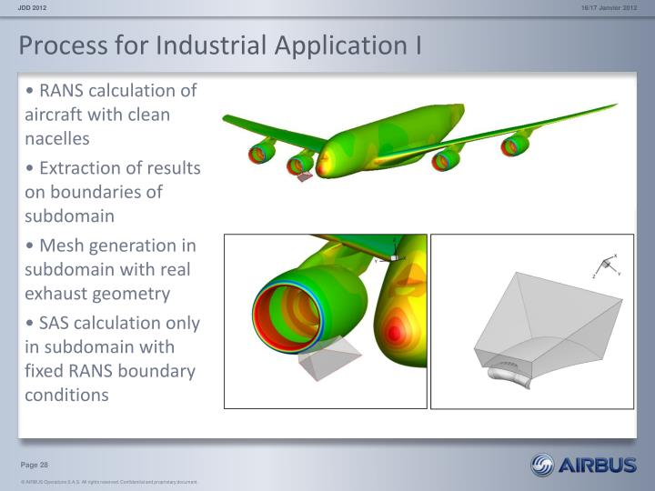 Process for Industrial Application I