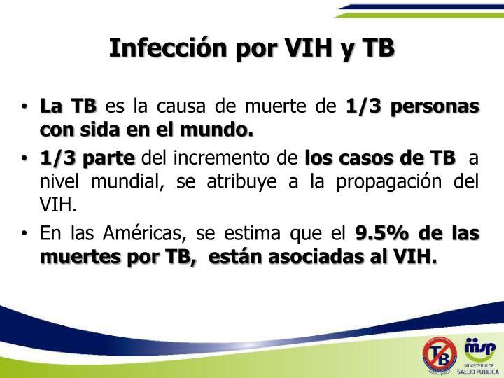 Infección por VIH y TB