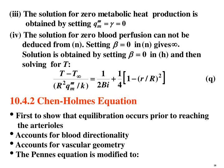 10.4.2 Chen-Holmes Equation