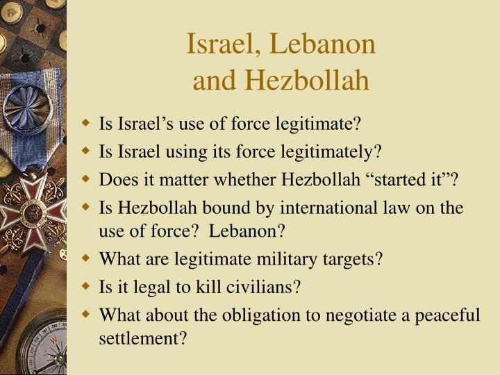 Israel, Lebanon