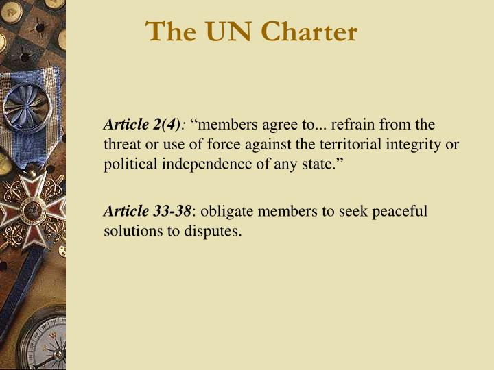 The UN Charter