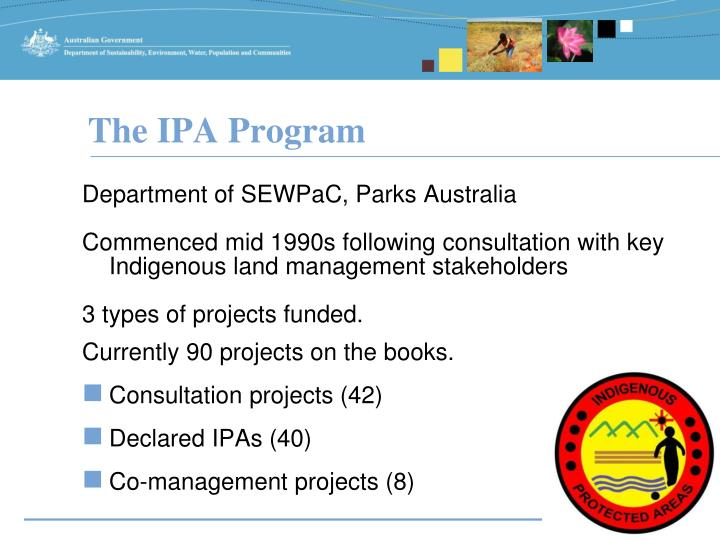 The ipa program