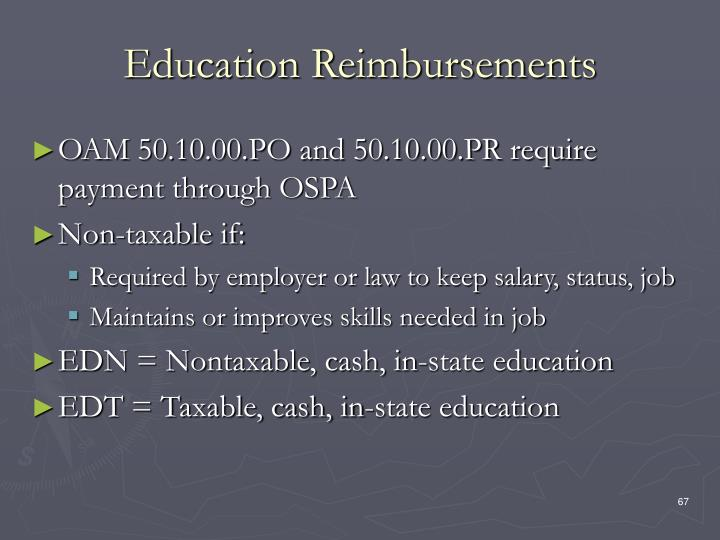 Education Reimbursements