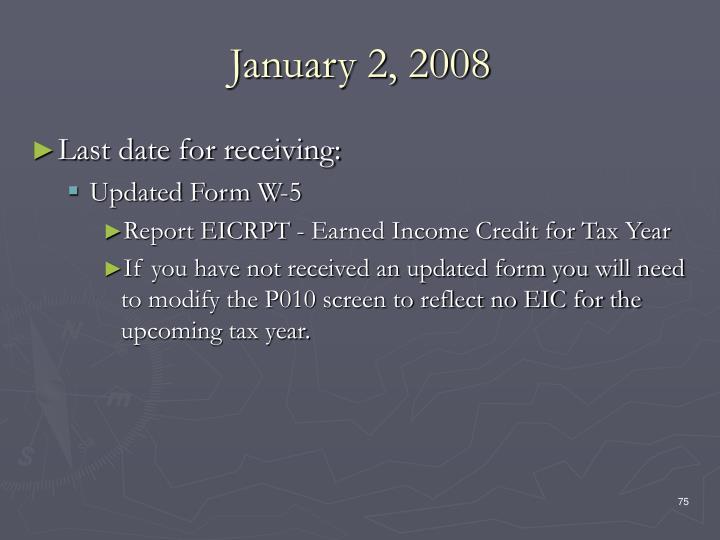 January 2, 2008