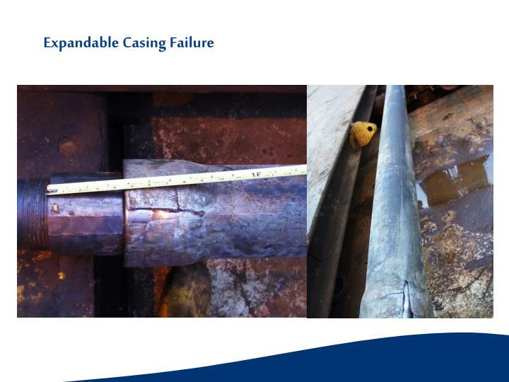 Expandable Casing Failure