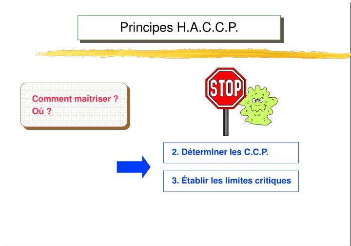 Principes H.A.C.C.P.