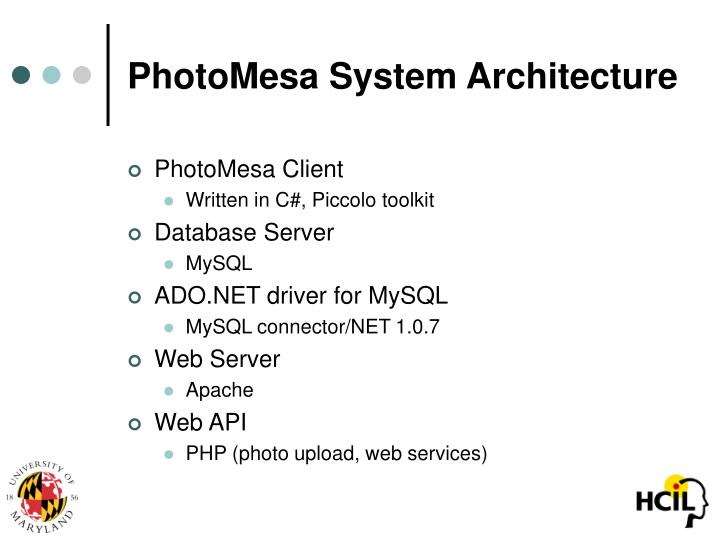 PhotoMesa System Architecture