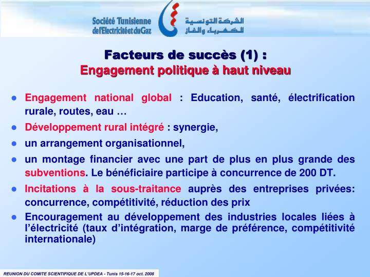 Engagement national global