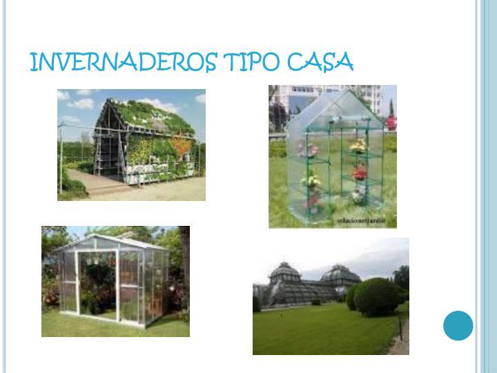 INVERNADEROS TIPO CASA