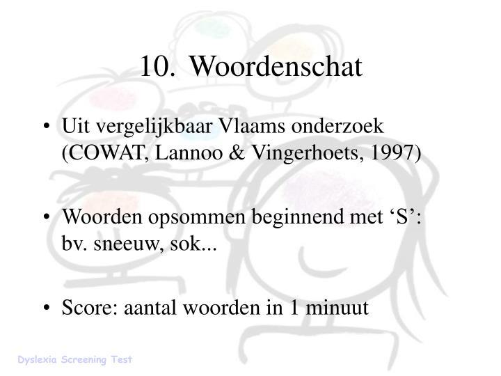 10.Woordenschat