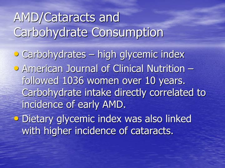 AMD/Cataracts and