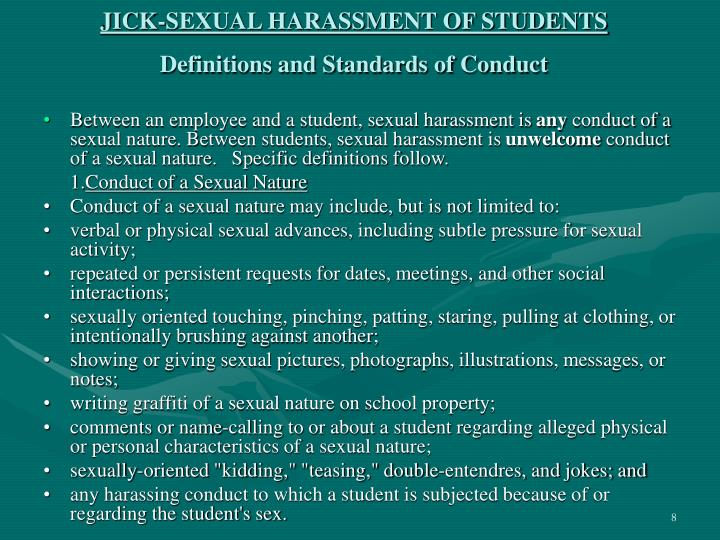 Report on harassment in the workplace - EEOC Home Page