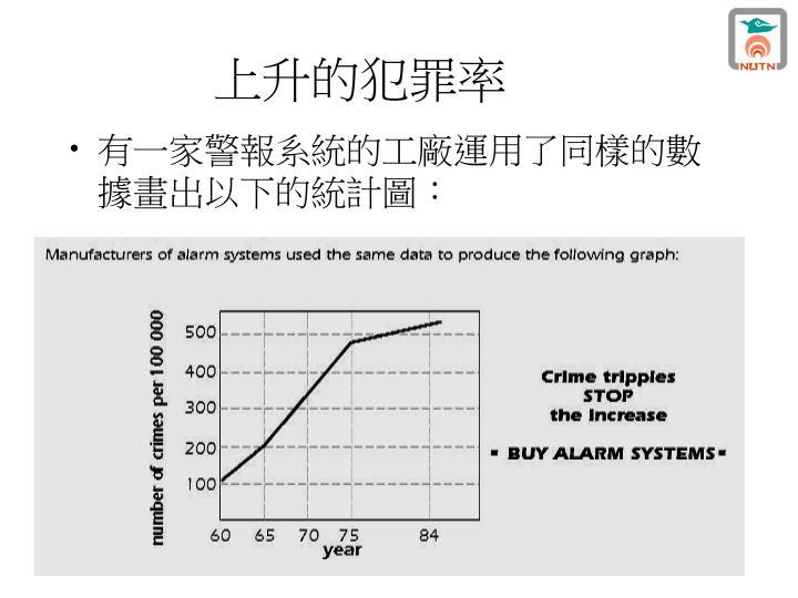 上升的犯罪率