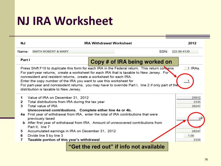 NJ IRA Worksheet