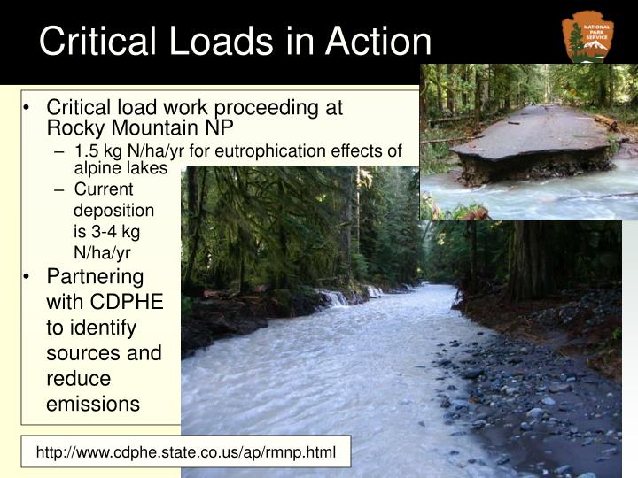 Critical Loads in Action