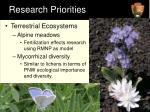 research priorities2