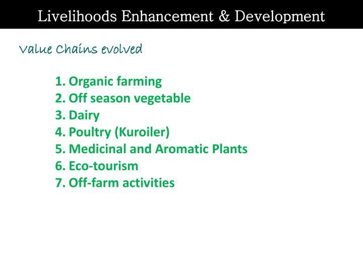 Livelihoods Enhancement & Development