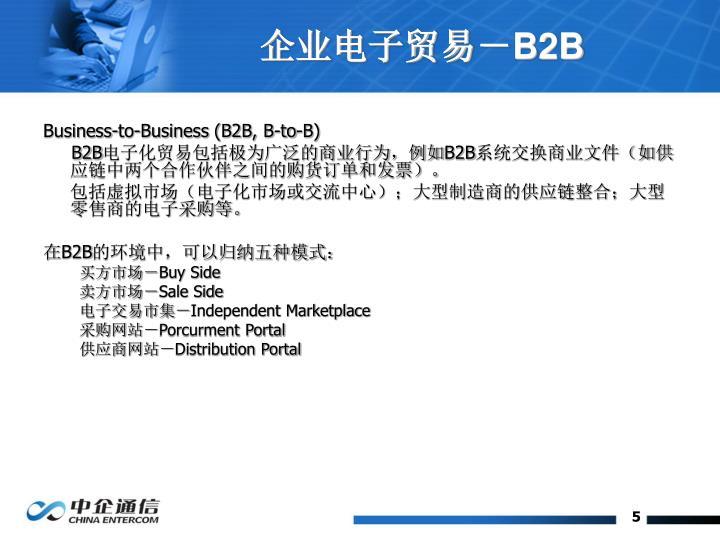 企业电子贸易-