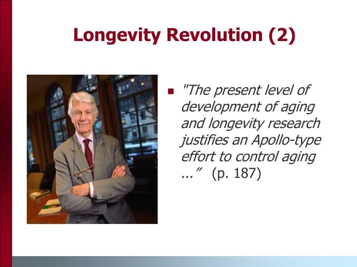 Longevity Revolution (2)