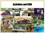 activities and crm