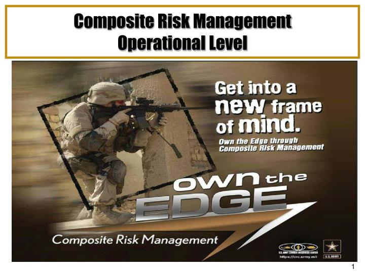 Composite risk management operational level