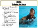 fm 7 0 training the force