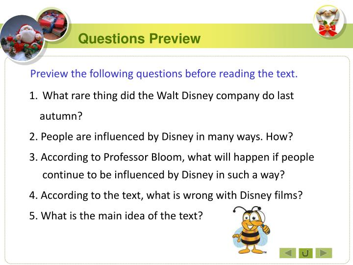 Questions Preview