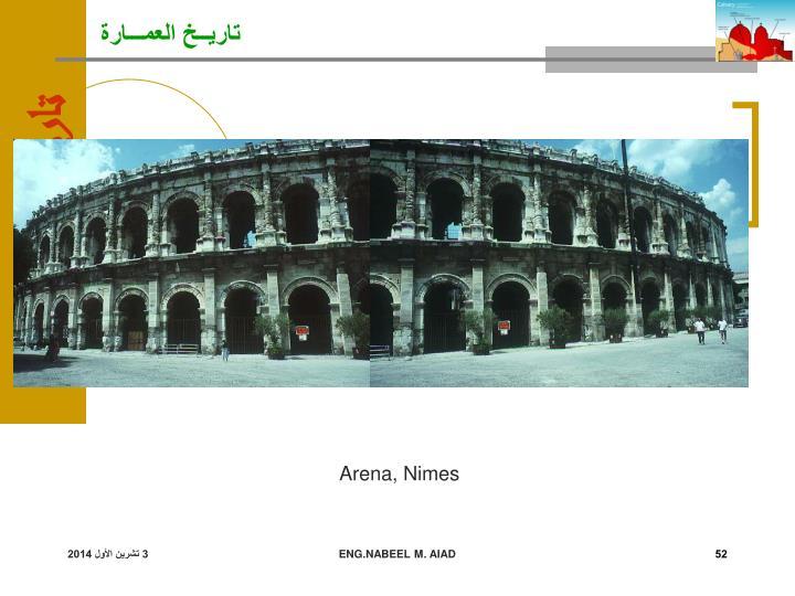 Arena, Nimes